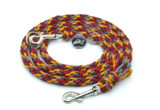 Handmade Kumihimo Samurai Leash by Kanji