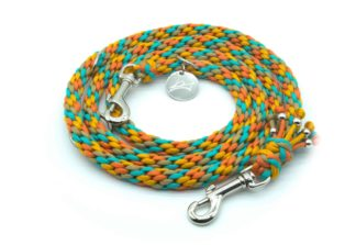 Handmade Kumihimo Hawaii Leash by Kanji