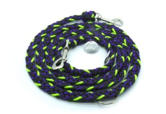 Handmade Kumihimo Violetear Leash by Kanji