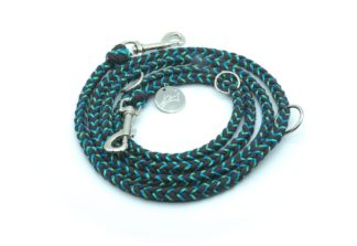 Handmade Kumihimo Little Mermaid Leash by Kanji