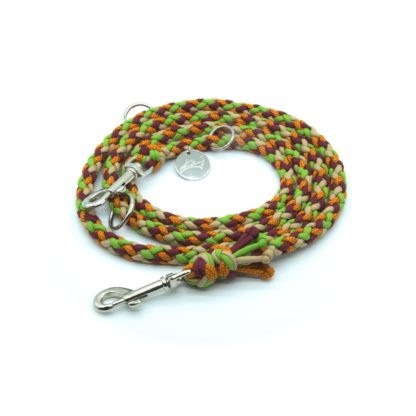 Handmade Kumihimo Sneezeweed Leash by Kanji