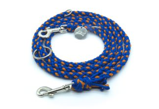 Handmade Kumihimo Blorange Leash by Kanji