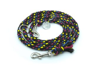 Handmade Kumihimo Candy Shop Leash by Kanji