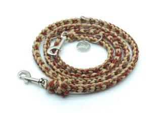 Handmade Kumihimo Rattlesnake Leash by Kanji