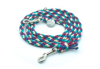 Handmade Kumihimo Frozen Berry Leash by Kanji