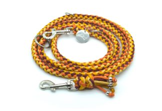 Handmade Kumihimo Billy The Kid Leash by Kanji