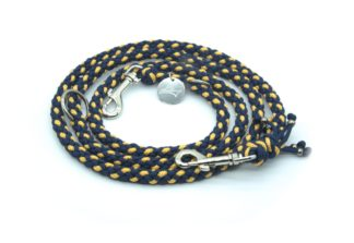 Handmade Kumihimo Star Dust Leash by Kanji