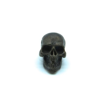 Handemade Perfect Skull in Black Oxide by Contour Paracord