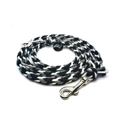 Handmade Kumihimo Yin Yang Leash by Kanji