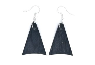 Charcoal Edition Earrings IV